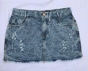 Mini Saia Jeans - Clara