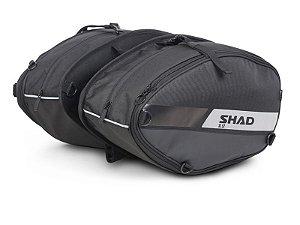 SHAD SL52 BOLSA LATERAL EXPANSÍVEL 21 A 26 LITROS TOURING - TOTAL 42 A 52 LITROS