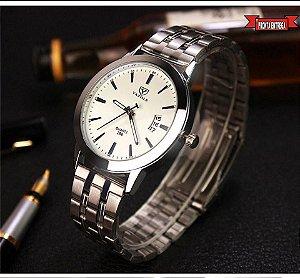 4daa3204aa7 Relógio Feminino Masculino Yazole 296 -menor Preço Promoção- FRETE GRÁTIS  PARA TODO SUDESTE