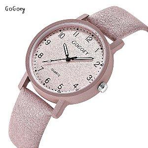 6219da152ec Relógio Feminino Gogoey G508 Menor Preço - FRETE GRÁTIS PARA TODO SUDESTE