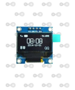 "Display OLED 0.96"" I2C Branco"