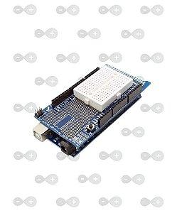 Mega Protoshield para Arduino + Mini Protoboard