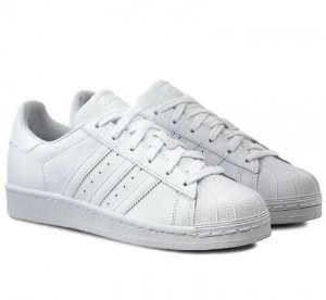 Tênis Adidas Superstar Foundation All White - Importado