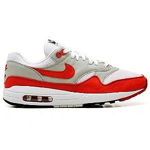 Tênis Nike Air Max 901 Cinza e Vermelho