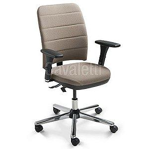 Cadeira Secretária Ergonômica Gerencial 16503 com Laudo NR17