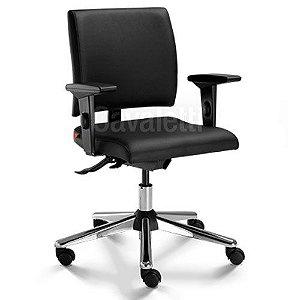 Cadeira Secretária Ergonômica Gerencial 18004 com Laudo NR17