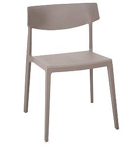Cadeira Decorativa para Escritório ANM 6003 Cinza ou Branco