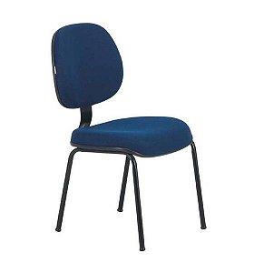 Cadeira Secretária Executiva Fixa para Escritório 4 pés