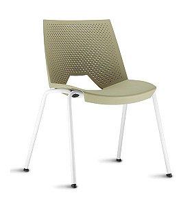 Cadeira Empilhável Fixa Strike