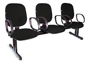Cadeira Longarina Diretor 2,3,4 e 5 Lugares
