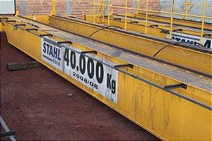 Ponte Rolante dupla viga 40 ton