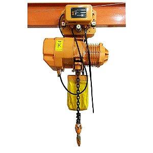 Talha Elétrica de Corrente Com Trolley MTM 02 Ton