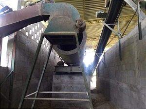 Lote: Fabrica de argamassa, Clarofilito, Calcário Completa com Secadora