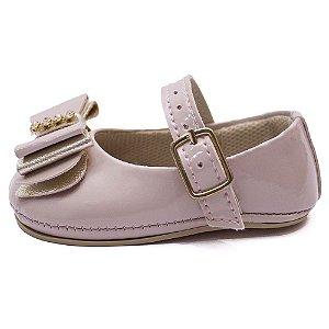 Sapato bebê feminino Laço