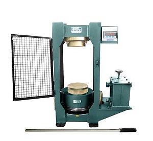 Prensa hidraulica manual com indicador digital CAP. 100 toneladas