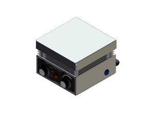 Agitador magnetico 5L com aquecimento analogico