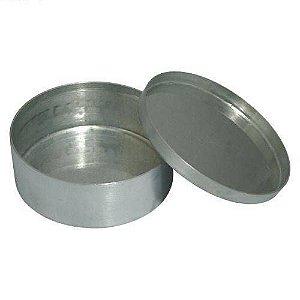 Capsula de aluminio com tampa DIAM. 40X20MM 25ML