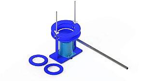 Extrator de amostra Marshall/CBR e Proctor hidraulico 4 toneladas