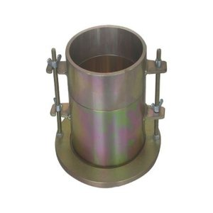 "Molde cilindrico bipartido (Molde Proctor DIAM. 4"" com colar e base de aco zincado)"