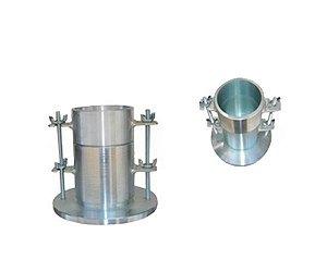 """Molde para compactacao AASHTO DIAM. 4"""" com base e colar"""