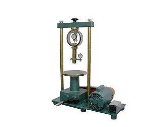 Prensa CBR/ISC eletrica com anel Dinamometrico
