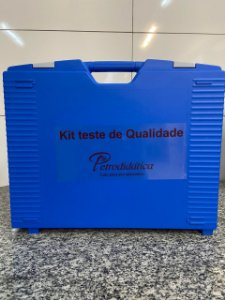 Kit de analise para combustiveis - Maleta azul