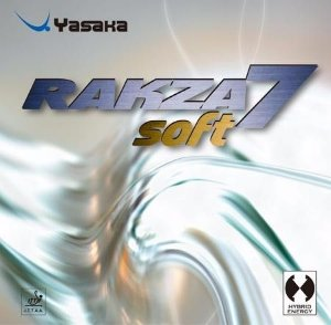 Borracha Yasaka - Rakza 7 Soft Tênis de Mesa