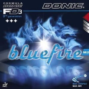 Borracha Donic - Bluefire M2