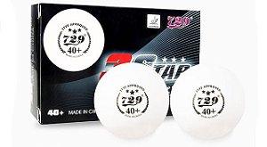 Bolas Friendship 729 - Plástico 40+ 3 Estrelas 06 unidades
