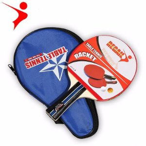 Raquete Ping Pong Tênis De Mesa - Regail Clássica Com Case