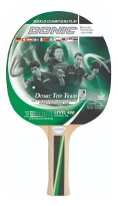 Raquete Ping Pong Clássica - Donic Top Team 400 Tênis De Mesa