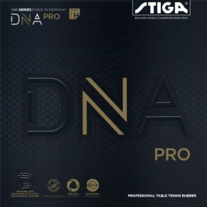 Borracha Tênis De Mesa - Stiga DNA Pro H (Hard)