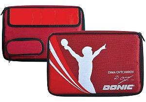 Raqueteira Case com Porta Bolas Donic - Ovtcharov Tênis De Mesa