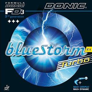 Borracha Donic - Bluestorm Z1 Turbo (Esponja Azul) Tênis De Mesa