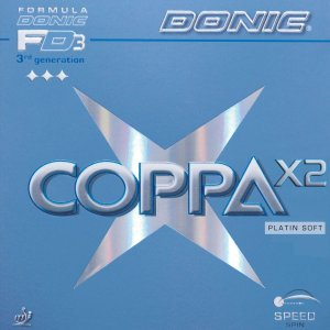 Borracha Donic - Coppa X2 Platin Soft Tênis De Mesa