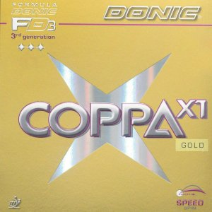 Borracha Tênis De Mesa Donic - Coppa X1 Gold