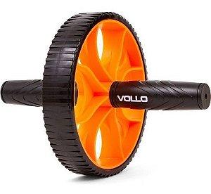 Rolinho Abdominal Lombar - Roda para Treinamento Físico Vollo