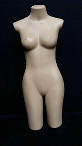 Busto Feminino Adulto Eva Bege