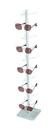 Expositor de Óculos Pirâmide com 10 de Balcão