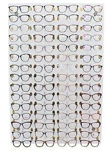 Painel de Óculos - 60 óculos