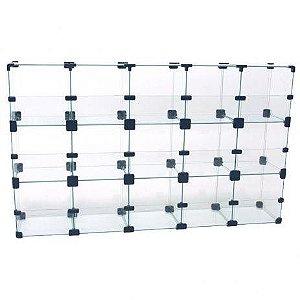 Baleiro de Vidro 100L x 60A x 20P cm