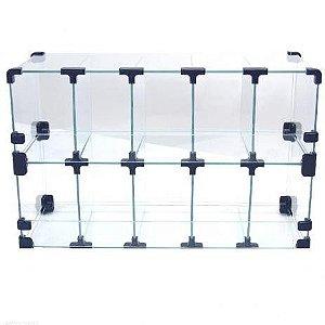 Baleiro de Vidro 50L x 40A x 20P cm