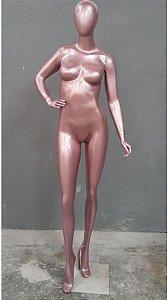 Manequim Feminino Fibra Pose Rosé