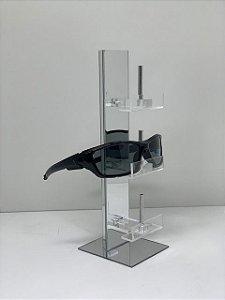Expositor de Óculos Espelhado - 3 óculos