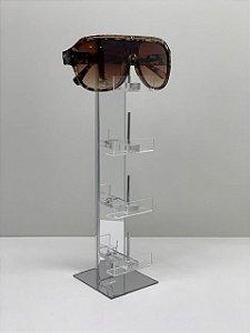 Expositor de Óculos Espelhado - 4 óculos