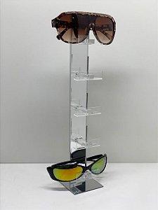 Expositor de Óculos Espelhado - 5 óculos