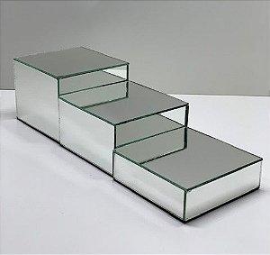 Expositor Espelhado Cubo - tam. G