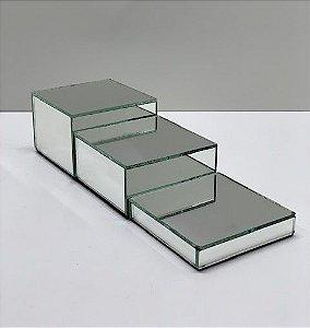 Expositor Espelhado Cubo - tam. P