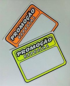 Etiqueta PVC Promoção - tam. M - 10 unid.