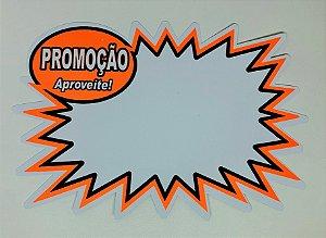 Etiqueta PVC Promoção Explosão - 10 unid.